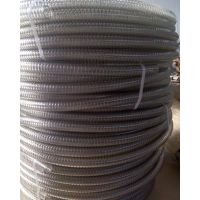 供应菜籽油输送管PU透明钢丝螺旋管聚氨酯钢丝平滑管
