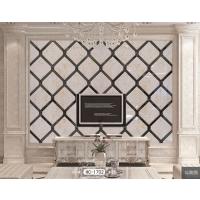 玻璃限时特价异形镜家装电视沙发艺术拼镜背景墙银镜菱形拼接