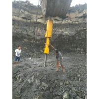 挖地基破硬石头岩石分裂机开采成本柳州分裂机