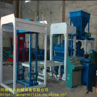 液压全自动免烧砖机 4-15 水泥面包 高效节能 价格 梦人
