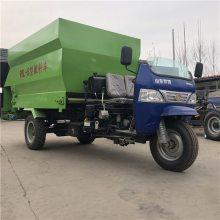 可加高饲料撒料车 现代化养殖设备撒料车 润众