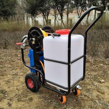 正品酒店餐厅喷雾器推车式电动喷药机60L苗圃加湿喷洒机