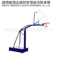 源头厂家 可定制 馨赢牌 国家标准平箱 移动式篮球架 配钢化玻璃篮板