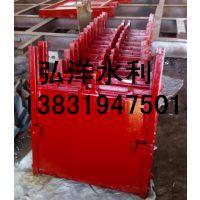 福清供水口500*500弧形铸铁闸门