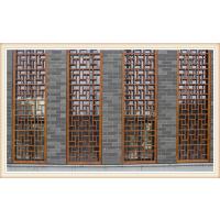 西安供应铝花格、木纹屏风 大量生产