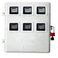 玻璃钢6表位计量箱,电力局专用玻璃钢电表箱,供电公司计量箱厂家