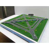 互通型立交桥模型