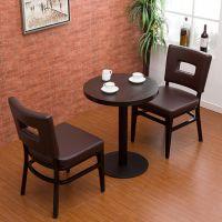 海德利 简约时尚 餐厅餐桌酒店桌椅 铁艺实木会议电脑桌 复古做旧美式家具办公桌
