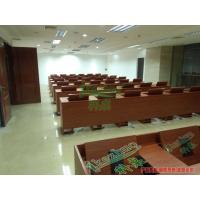 简约现代多媒体电教室电脑翻转器液晶显示器手动边框培训中心电脑桌翻板器课桌培训电脑桌