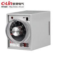 欣灵HHS8-NC(AH3-NC)电子式时间继电器