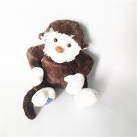 动物填充布艺毛绒玩具猴子公仔 吉祥物布艺玩偶可来图定制