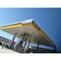 泰州市南环石油加油站大棚s300面铝扣板德普龙发货全国