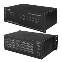 【XAVIKE/赛维科】DVI16进16出高清矩阵切换器/视频会议服务器主机/支持定制