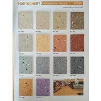 Hot sale PVC同透地板 蒙哥马利T级耐磨塑胶卷材 homogeneous floor医院