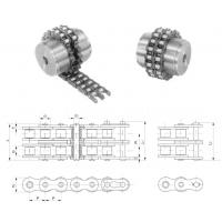 东华盾牌厂家直销联轴器链工业链条5014 5016 5018 10A滚子链条节距15.875