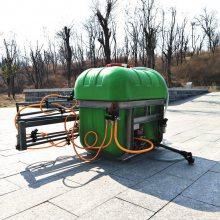 山东直销农用后置打药机车载式杀虫弥雾机家用多喷头喷雾器