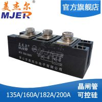 品牌厂家直销 质保 可控硅模块 MTK160A1600V 晶闸管模块 型号齐全