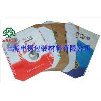 上海申禄产建材类三纸一膜袋 石材粘结剂阀口袋、抹面砂浆牛皮纸袋
