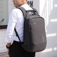 厂家直销背包金圣斯外接usb充电接口手机吸盘电脑包双肩包