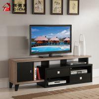 电视柜 现代简约客厅多功能视听柜 1.8M浅灰色电视柜
