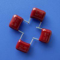 久亦/WB 金属化聚酯膜CL21电容器 厂家直供 MEF 154K 250V 0.15uf