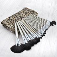 kainuoa/凯诺工厂批发24支豹纹化妆刷套装批发 彩妆工具