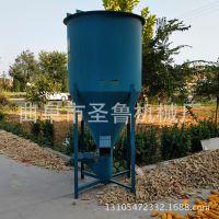圣鲁立式自吸搅拌机 大型草面子混料机 山西鸡鸭饲料搅拌机
