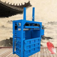 60吨易拉罐打包机 80吨编织袋易拉罐打包机 启航牌海绵液压打块机