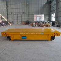 20t低压两相电动平板车参数配置|油罐搬运轨道平车图例