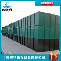 厂家威铭WMDM-1供应 长方形屠宰场用地埋式污水处理环保装置