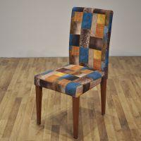 厂家直销金属椅子 酒店婚庆宴会包布餐椅 时尚创意椅子卡航家具