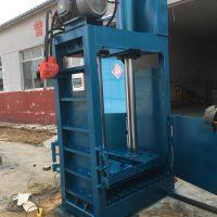 山东思路生产液压打包机 立式80型废品压块机 全自动和半自动打包机区别