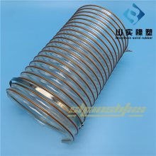 pu塑料软管、透明管生产、软管无毒 优质 pu管通风排气管