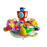 奇趣飞行 室内儿童游乐设施 广场游乐设备 旋转升降类 大成科技