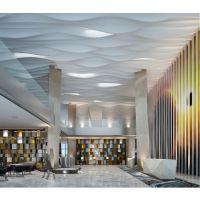 电影院弧形铝方通吊顶-铝合金弧形铝方通幕墙天花