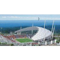江门市张拉膜结构|200平米膜结构工程|看台膜结构建筑|奥鼎膜结构公司