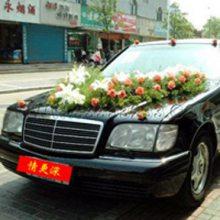 都安县婚礼花车装饰都安县鲜花拱门15296564995结婚婚庆鲜花布置
