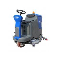 西安商场保洁用驾驶式洗地机|威卓洗地机X7-70S价格