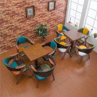 众美德定做实木餐桌椅子|快餐厅桌子|古典中式餐桌价格实在
