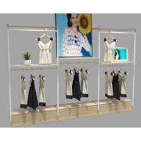 木质服装展示架创意展柜烤漆服装陈列展架定制