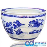 陶瓷大缸图片价格 家居客厅摆设陶瓷鱼缸 陶瓷缸批发 陶瓷大缸定做