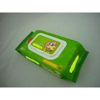 广东湿巾生产厂家 纯棉婴儿湿巾代加工 珍珠纹卫生湿巾odm