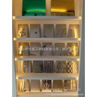 304压花板材批发厂家 广州联众 压花不锈钢卷板