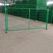 公路安全隔离护栏 包塑铁丝围栏 果园护栏网