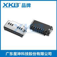 SD卡座 二合一 自弹型 SD卡槽 PUSH CARD 弹出式连接器
