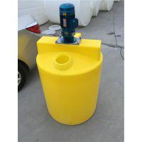 华社厂家供应100L-3000L搅拌罐加药箱设备可定制电机