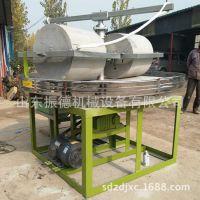 山东 石碾子厂家 双辊石碾小麦机器 全自动石碾设备厂家加工定制