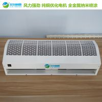 商场大门用冷热水贯流式风幕机 RM1509-S热水风幕机