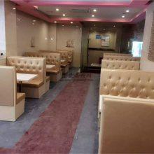 定做卡座沙发的板材,东莞港式餐饮家具定制案例