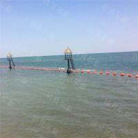 进水口流道浮式拦污排浮筒拦截漂流物